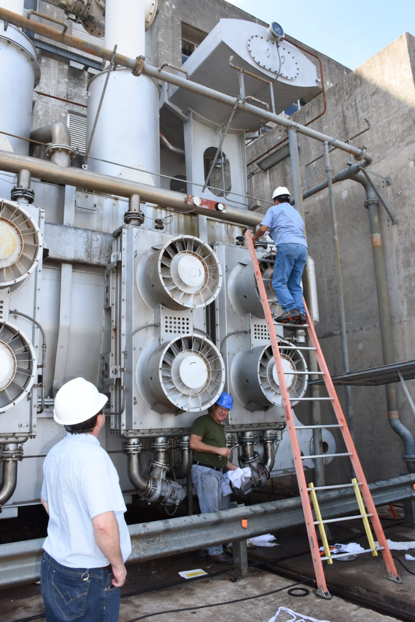 All 220 Kv switches removed at Yacyretá ahead of 500 Kv line