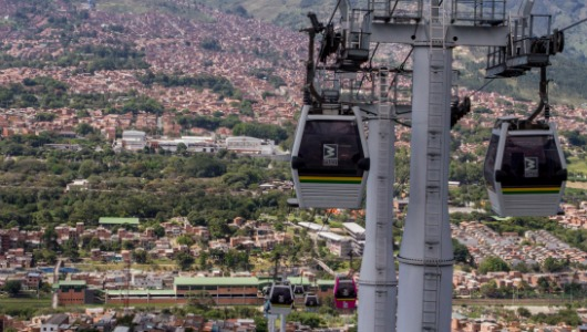 Medellín readies tender for El Picacho cable car line