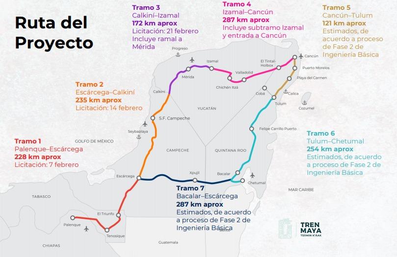 México acelerará construcción de Tren Maya