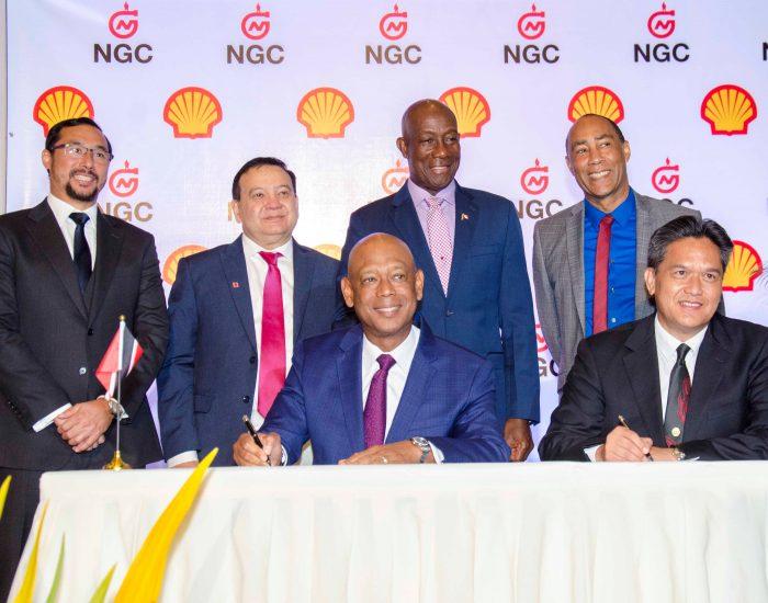 Hoja de términos de las ventas de gas NGC / Shell Trinidad Limited