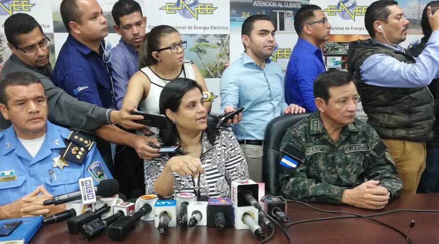 Operación Trueno recupera más de 45 millones de lempiras por hurto de energía en primeras 48 horas
