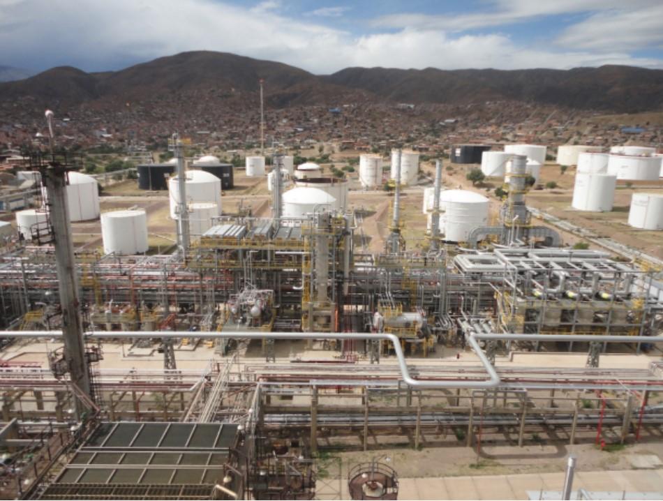 Un vistazo a la automatización de las refinerías de YPFB
