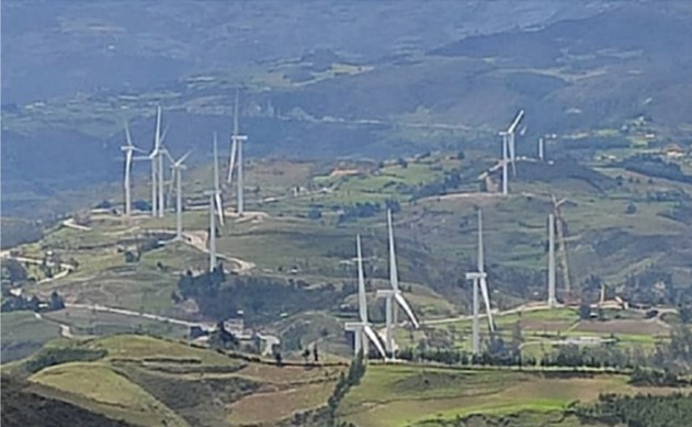 Grenergy connects the Duna and Huambos wind farms in Peru
