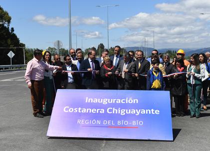 Chile inaugura vía costera Concepción-Chiguayante