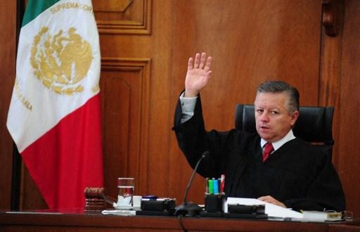 México extiende mandato de presidente de Corte Suprema