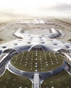 Termination of mega airport to be completed in July