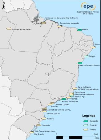 Brasil se prepara para nueva fase de inversiones en terminales de GNL