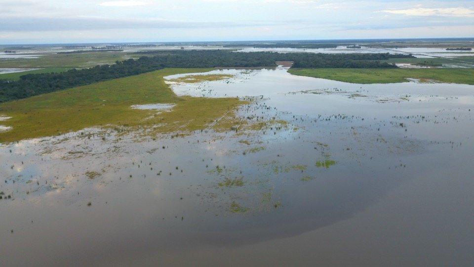 Intensas lluvias inundan provincia argentina