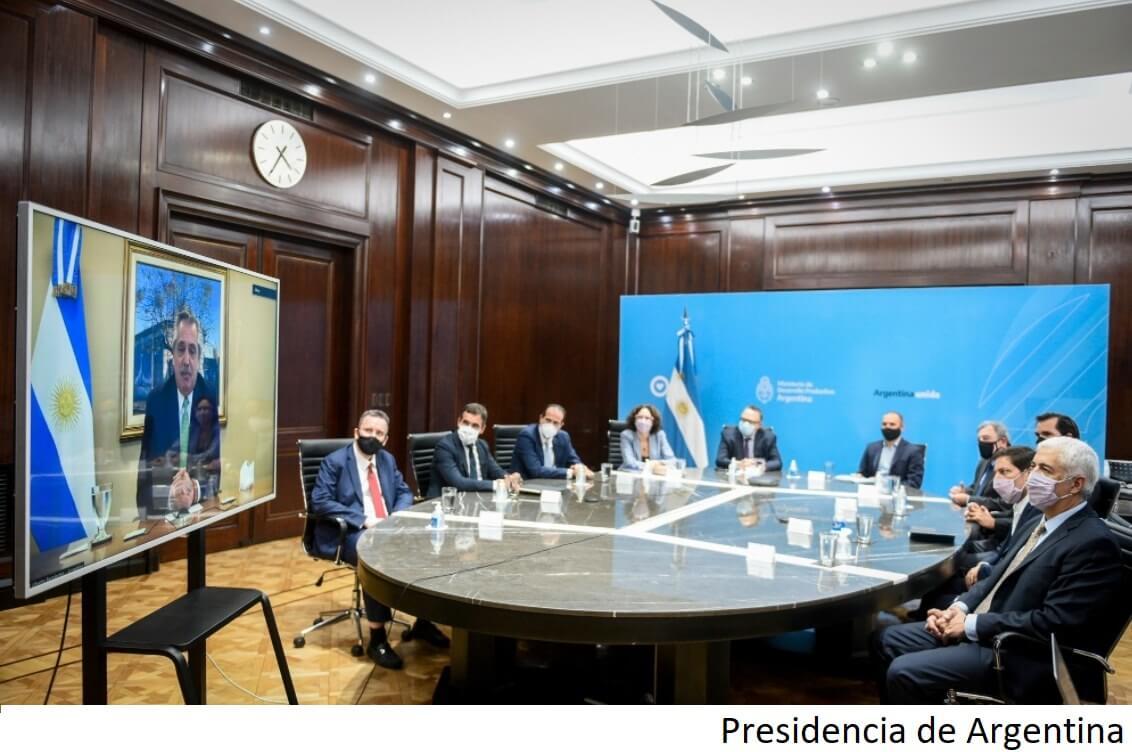 Argentina crea programa de incentivo para exportaciones