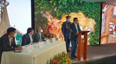 President Arce Catacora announces that Peru is interested in Bolivian gas