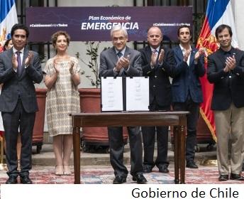 Piñera's approval rating trending up as Chile battles coronavirus