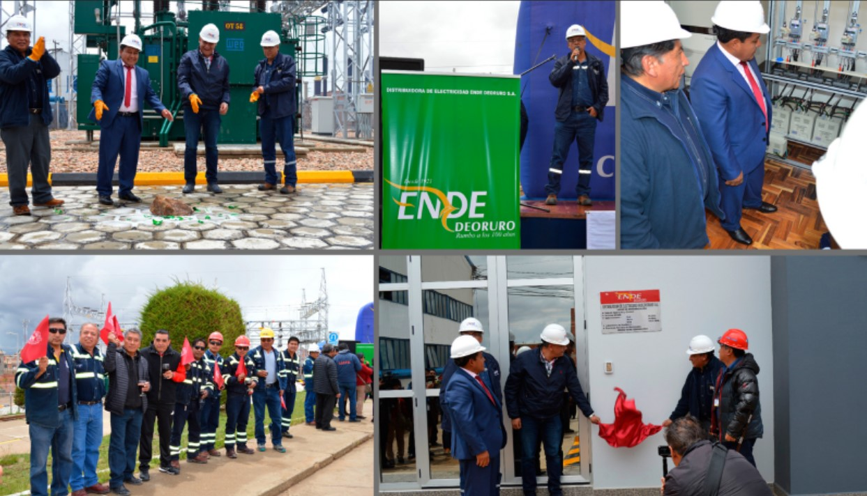 Ende Deoruro SA inaugurated works with modern technology