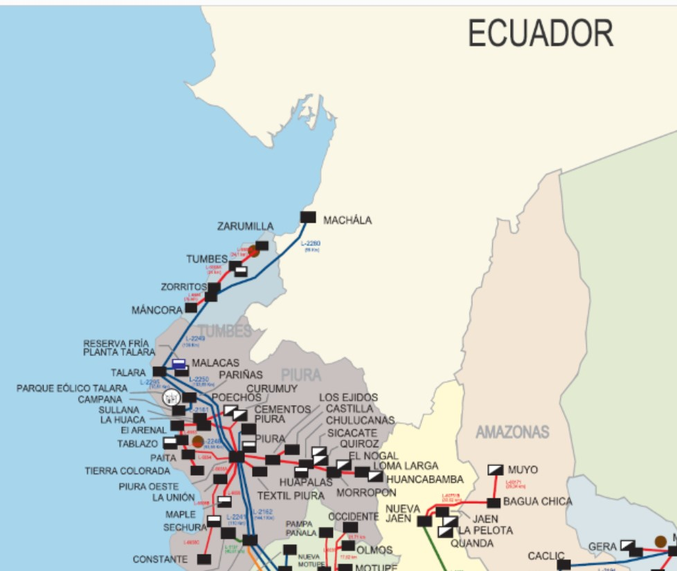 Ecuador-Peru interconnection design to begin in April