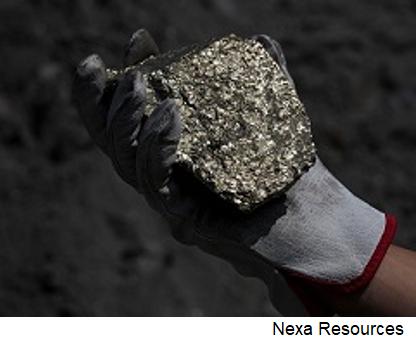 Nexa incrementa gasto de capital para proyecto minero brasileño