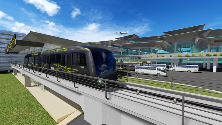 Brazil unveils rail project for country's biggest airport