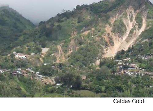 Colombia renueva por 30 años títulos mineros de Caldas Gold