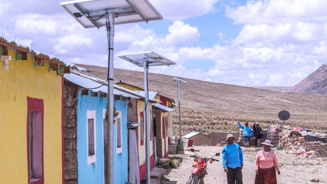 Minem: More than 33,400 rural homes in southern Peru will be electrified with solar panels