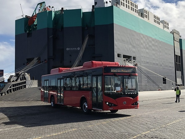 A. Latina refuerza flotas de buses eléctricos en iniciativas de descontaminación