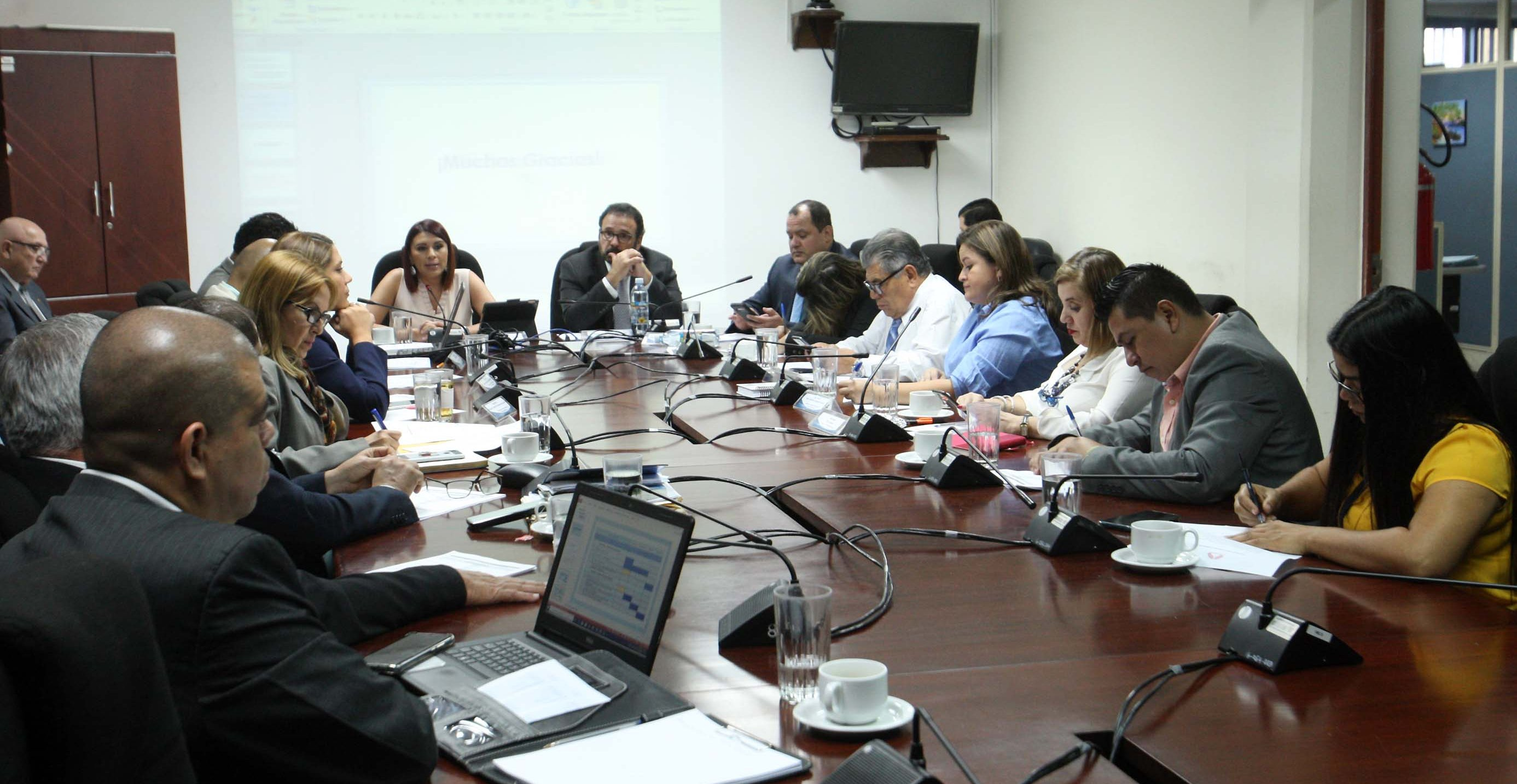 Schedule is defined that will expedite the study of the General Water Law in El Salvador