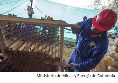 Colombia avanza con planes de formalización minera