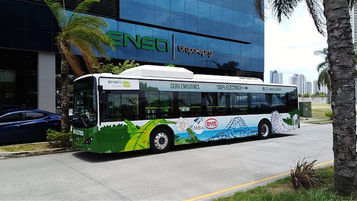 Panama inks deal to implement electric bus system