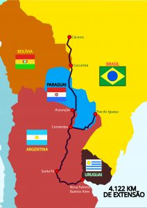Brazilian officials in talks to boost Paraguay-Paraná waterway