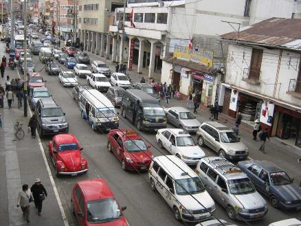 Peru's transport ministry looking to tame urban traffic chaos