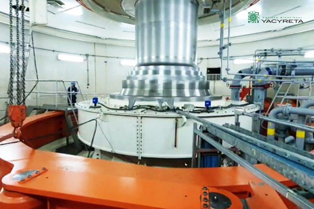 Yacyretá advances with the rehabilitation process of its turbines