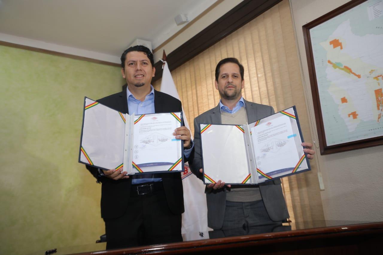 YPFB y Ambar Energía suscriben contrato para provisión de gas en nuevo escenario hidrocarburífero de Brasil