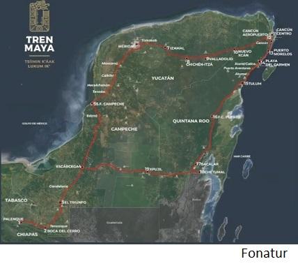 México iniciaría construcción de tramo 5 de Tren Maya en agosto
