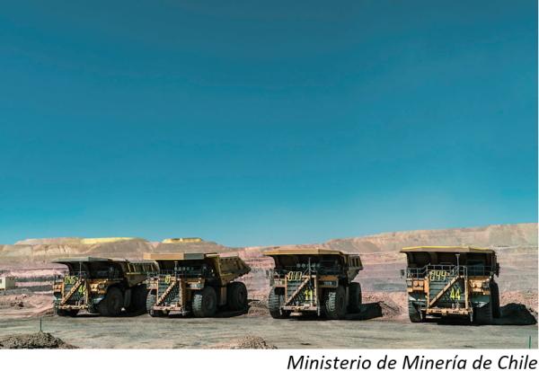 Ordenan cuarentena para trabajador minero chileno