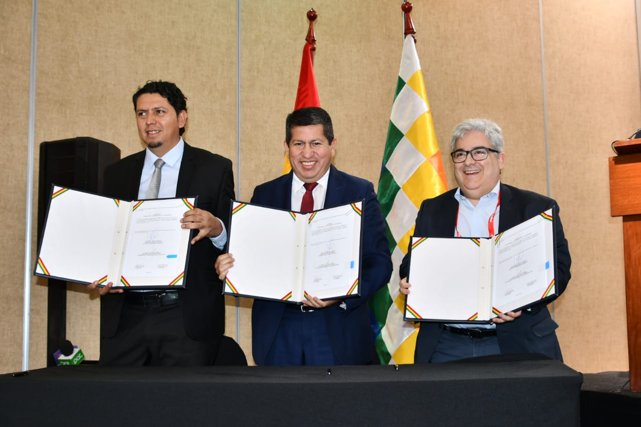 Bolivia venderá 4 MMmcd de gas natural a la firma brasilera Gas Bridge