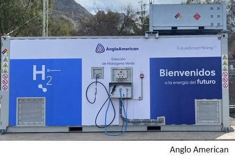 Anglo American inaugura primera generadora de hidrógeno verde de Chile
