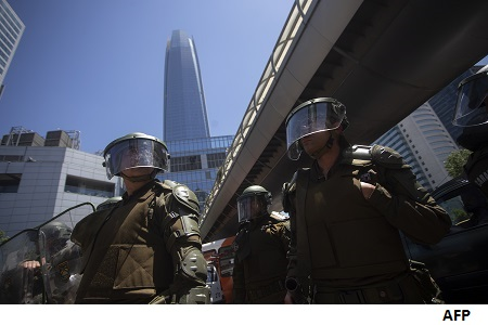 How Chile social unrest is hitting the economy where it hurts most
