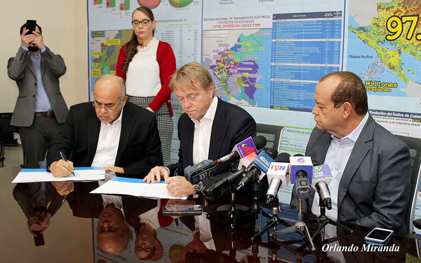 For the first time in history Nicaragua will have a natural gas power plant