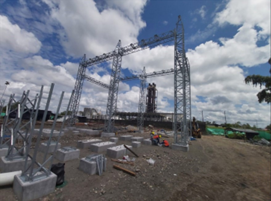 CELEC EP builds a new substation for the electrical interconnection with the oil system