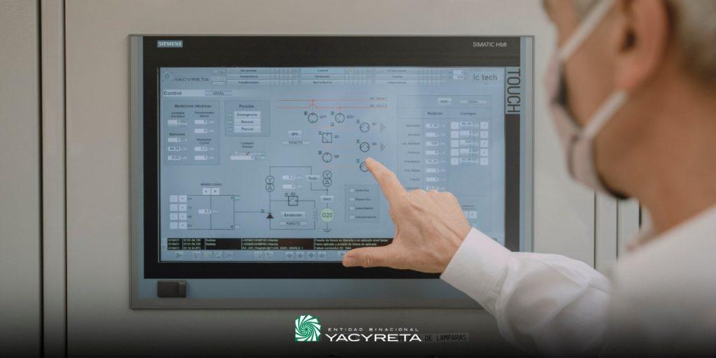 Yacyretá avanza con la modernización de los sistemas de control de las unidades generadoras