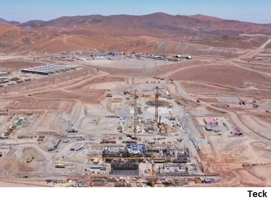 Chile's Quebrada Blanca potential 'top 5 global copper producer'