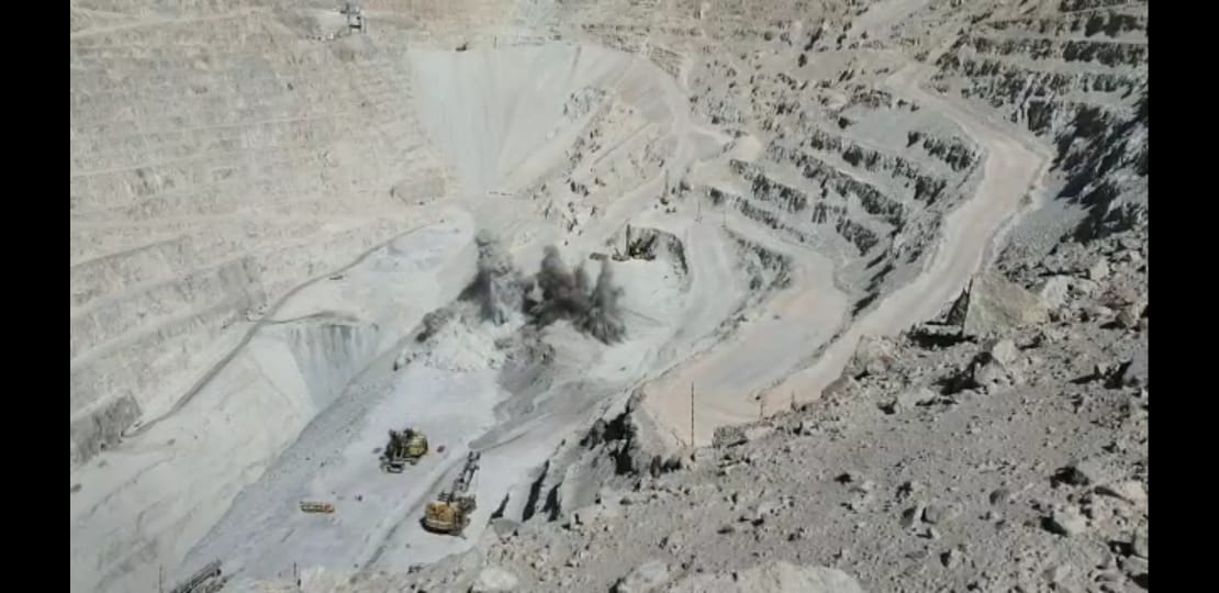 Chuquicamata working to reach 60% of production capacity