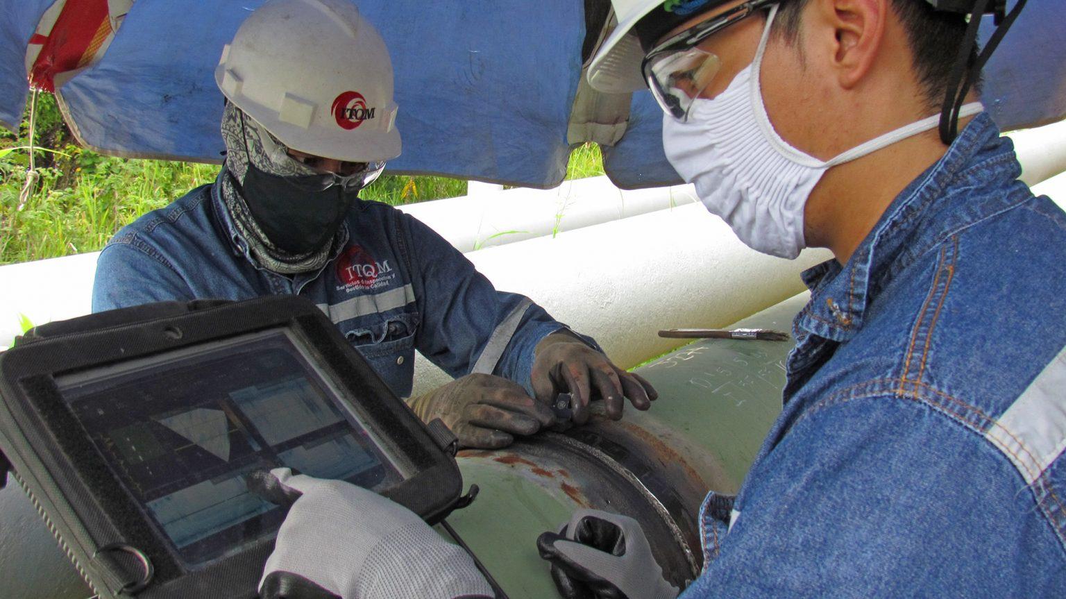 Trabajos de cambio de tubería para transportar Cutter Stock a Refinería Esmeraldas tienen un avance del 81%