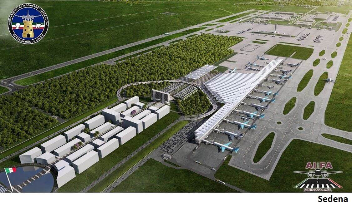 Mexico defends Santa Lucía airport spending