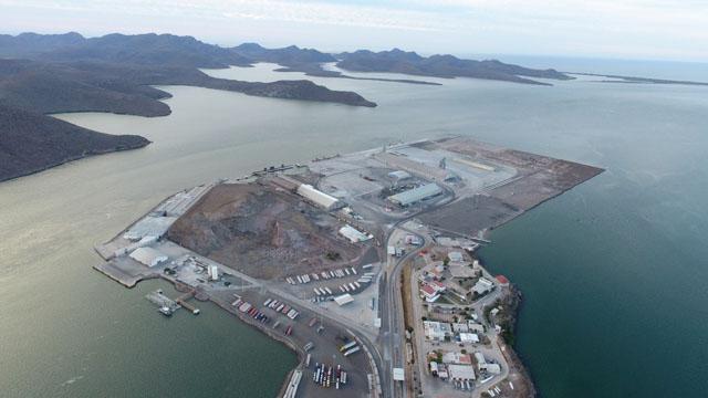 Comienza construcción de puerto mexicano de Topolobampo