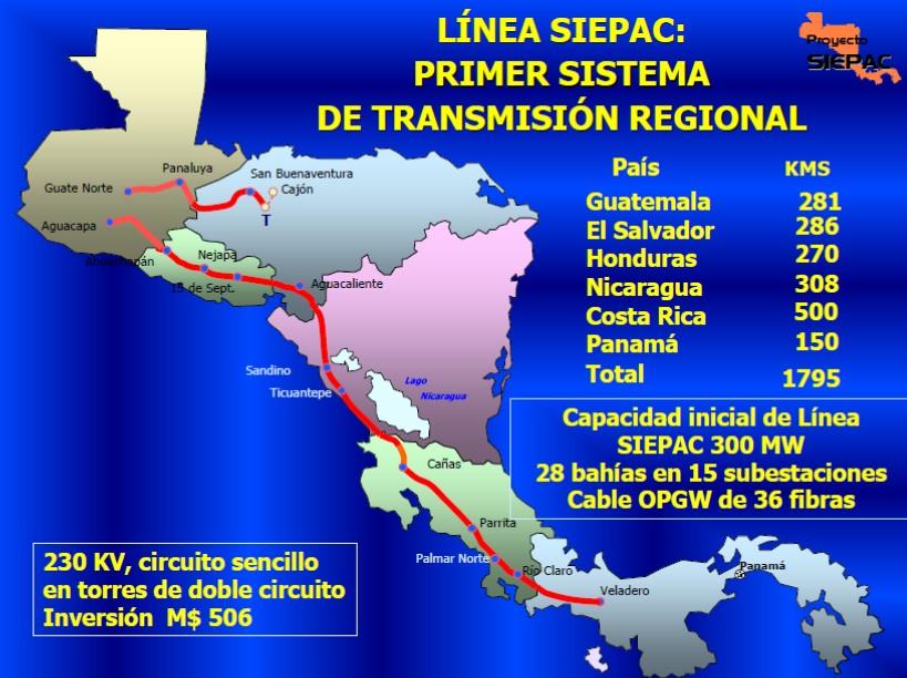 Planifican estudios para expansión de red centroamericana