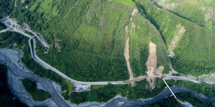 Colombia allocates funds for mudslide-hit highway