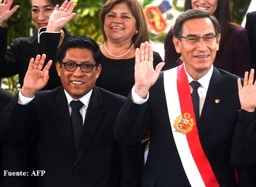 Jefe de Gabinete peruano promete neutralidad en elecciones parlamentarias