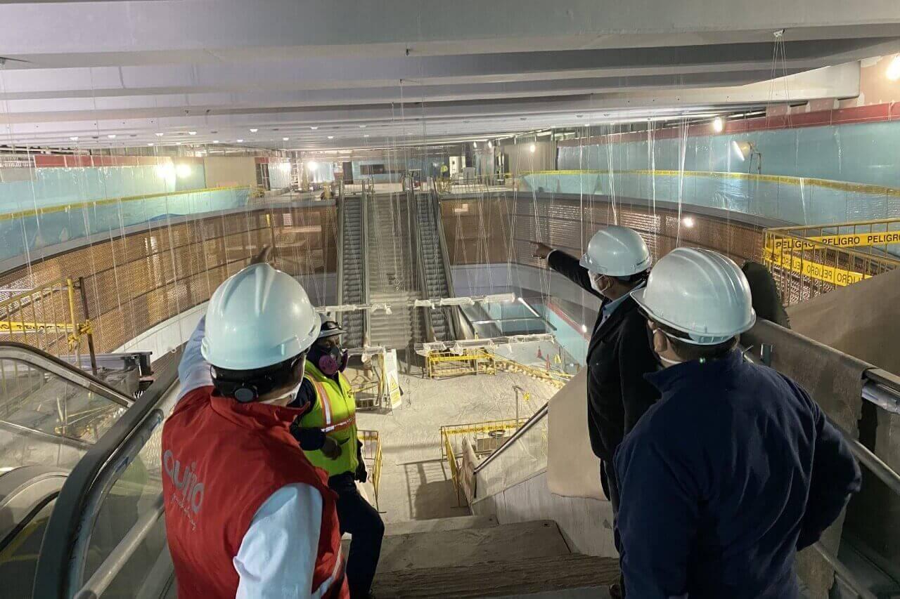 Quito representatives, lenders create technical metro commission