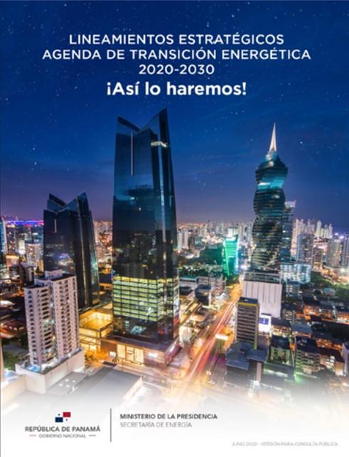 Panamá aprueba lineamientos de la agenda de transición energética
