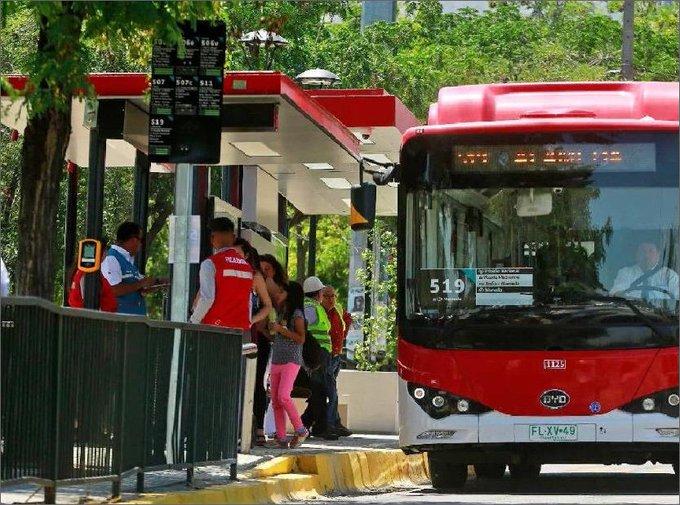 Chile mejorará enlaces de transporte público en Santiago