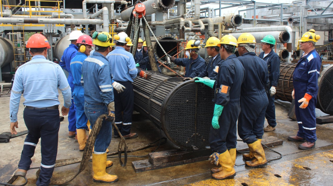 Shushufindi Refinery culminates programmed stoppage of Crude Unit 1