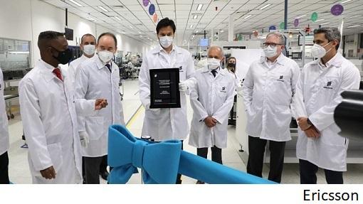 Ericsson kicks off LatAm production of 5G equipment